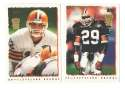 1995 Topps Team Set w/ Carolina Panthers Inaugural Logo - CLEVELAND BROWNS
