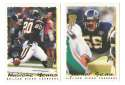 1995 Topps Team Set w/ Carolina Panthers Inaugural Logo - SAN DIEGO CHARGERS