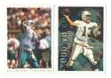 1995 Topps Team Set w/ Carolina Panthers Inaugural Logo - MIAMI DOLPHINS