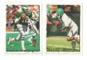 1995 Topps Team Set w/ Carolina Panthers Inaugural Logo - PHILADELPHIA EAGLES