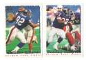 1995 Topps Team Set w/ Carolina Panthers Inaugural Logo - NEW YORK GIANTS