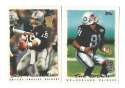 1995 Topps Team Set w/ Carolina Panthers Inaugural Logo - OAKLAND RAIDERS