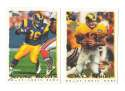 1995 Topps Team Set w/ Carolina Panthers Inaugural Logo - ST. LOUIS RAMS
