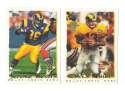 1995 Topps Team Set w/ Carolina Panthers Inaugural Logo - ST. LOUIS RAMS