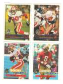 1996 Topps Football Team Set - SAN FRANCISCO 49ERS