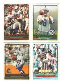 1996 Topps Football Team Set - INDIANAPOLIS COLTS