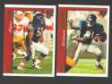 1997 Topps Football Team Set - CHICAGO BEARS