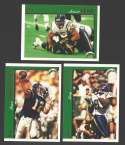 1997 Topps Football Team Set - SAN DIEGO CHARGERS