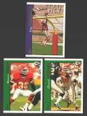 1997 Topps Football Team Set - KANSAS CITY CHIEFS   W/ Tony Gonzalez