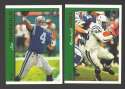1997 Topps Football Team Set - INDIANAPOLIS COLTS