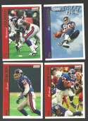 1997 Topps Football Team Set - NEW YORK GIANTS