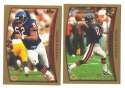 1998 Topps Football Team Set - CHICAGO BEARS