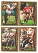 1998 Topps Football Team Set - TAMPA BAY BUCCANEERS