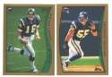 1998 Topps Football Team Set - SAN DIEGO CHARGERS