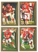1998 Topps Football Team Set - KANSAS CITY CHIEFS