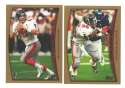 1998 Topps Football Team Set - ATLANTA FALCONS