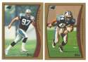 1998 Topps Football Team Set - CAROLINA PANTHERS