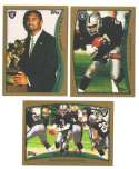 1998 Topps Football Team Set - OAKLAND RAIDERS