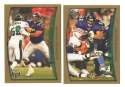 1998 Topps Football Team Set - BALTIMORE RAVENS