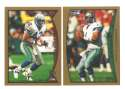 1998 Topps Football Team Set - SEATTLE SEAHAWKS