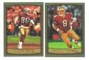 1999 Topps Football Team Set - SAN FRANCISCO 49ERS