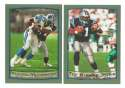 1999 Topps Football Team Set - CAROLINA PANTHERS
