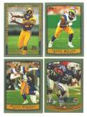1999 Topps Football Team Set - ST. LOUIS RAMS