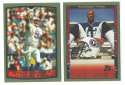 1999 Topps Football Team Set - TENNESSEE TITANS