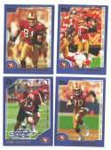2000 Topps Football Team Set - SAN FRANCISCO 49ERS