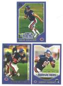 2000 Topps Football Team Set - CHICAGO BEARS w/ Brian Urlacher RC