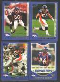 2000 Topps Football Team Set - DENVER BRONCOS