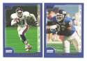 2000 Topps Football Team Set - NEW YORK GIANTS