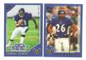 2000 Topps Football Team Set - BALTIMORE RAVENS