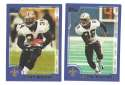 2000 Topps Football Team Set - NEW ORLEANS SAINTS