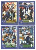 2000 Topps Football Team Set - TENNESSEE TITANS
