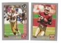2001 Topps Football Team Set - SAN FRANCISCO 49ERS