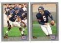 2001 Topps Football Team Set - CHICAGO BEARS