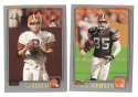 2001 Topps Football Team Set - CLEVELAND BROWNS
