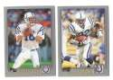 2001 Topps Football Team Set - INDIANAPOLIS COLTS