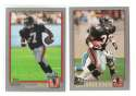 2001 Topps Football Team Set - ATLANTA FALCONS w/ MICHAEL VICK RC