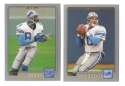 2001 Topps Football Team Set - DETROIT LIONS
