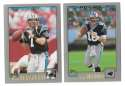 2001 Topps Football Team Set - CAROLINA PANTHERS w/ STEVE SMITH RC