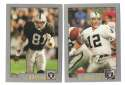 2001 Topps Football Team Set - OAKLAND RAIDERS