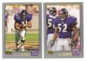 2001 Topps Football Team Set - BALTIMORE RAVENS