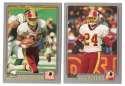 2001 Topps Football Team Set - WASHINGTON REDSKINS