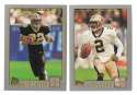 2001 Topps Football Team Set - NEW ORLEANS SAINTS