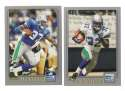 2001 Topps Football Team Set - SEATTLE SEAHAWKS