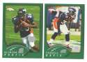 2002 Topps Collection Football Team Set - Denver Broncos