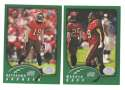 2002 Topps Collection Football Team Set - TAMPA BAY BUCCANEERS