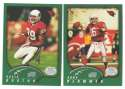 2002 Topps Collection Football Team Set - ARIZONA CARDINALS